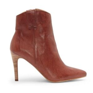 JUST IN! LUCKY BRAND Torience Leather Cognac Boots